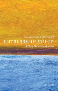 Cover Entrepreneurship: A Very Short Introduction