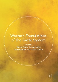 Cover Western Foundations of the Caste System