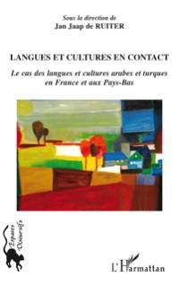 Cover Langues et cultures en contact- le cas