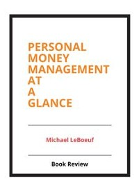 Cover Personal Money Management at a Glance