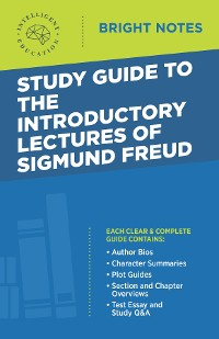 Cover Study Guide to the Introductory Lectures of Sigmund Freud