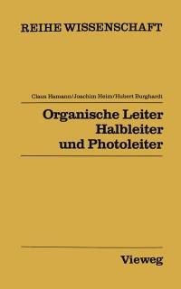 Cover Organische Leiter, Halbleiter und Photoleiter