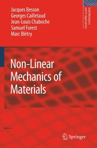 Cover Non-Linear Mechanics of Materials