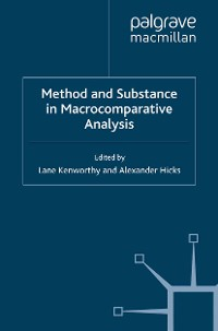 Cover Method and Substance in Macrocomparative Analysis