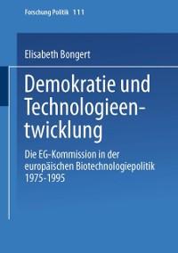 Cover Demokratie und Technologieentwicklung