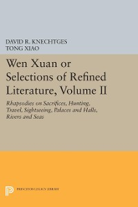 Cover Wen Xuan or Selections of Refined Literature, Volume II