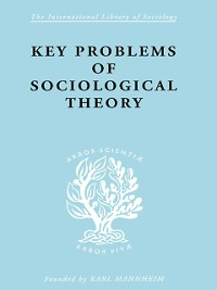 Cover Key Problems of Sociological Theory