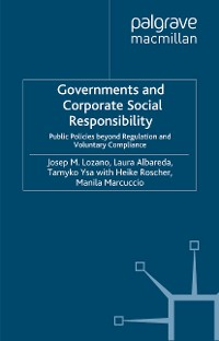 Cover Governments and Corporate Social Responsibility