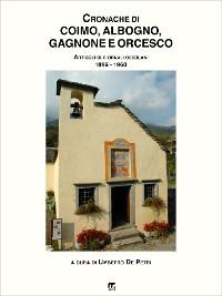 Cover Cronache di Coimo, Albogno, Sagrogno, Gagnone e Orcesco