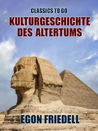 Cover Kulturgeschichte des Altertums