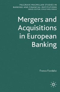 Cover Mergers and Acquisitions in European Banking