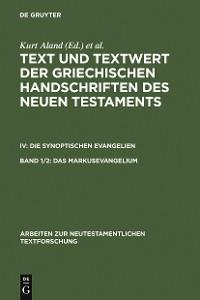 Cover Das Markusevangelium