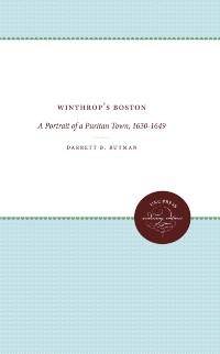Cover Winthrop's Boston