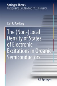 Cover The (Non-)Local Density of States of Electronic Excitations in Organic Semiconductors