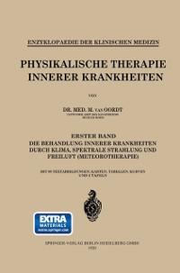 Cover Physikalische Therapie Innerer Krankheiten