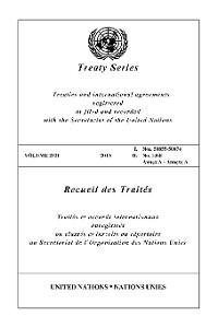 Cover Treaty Series 2921/Recueil des Traités 2921