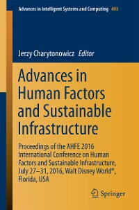 Cover Advances in Human Factors and Sustainable Infrastructure
