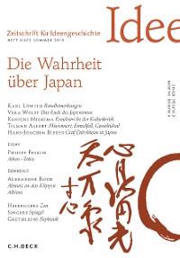 Cover Zeitschrift für Ideengeschichte Heft XIII/2 Sommer 2019