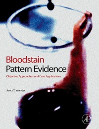 Cover Bloodstain Pattern Evidence