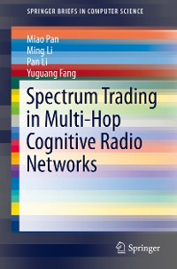 Cover Spectrum Trading in Multi-Hop Cognitive Radio Networks
