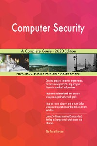 Cover Computer Security A Complete Guide - 2020 Edition