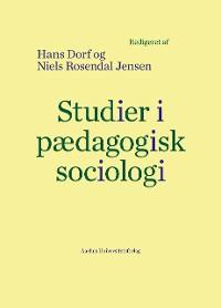 Cover Studier i pAedagogisk sociologi
