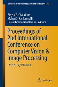 Cover Proceedings of 2nd International Conference on Computer Vision & Image Processing