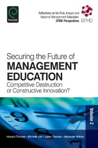 Cover Securing the Future of Management Education