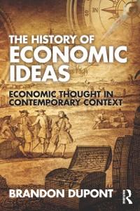Cover History of Economic Ideas