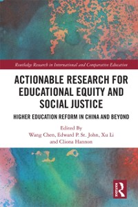 Cover Actionable Research for Educational Equity and Social Justice