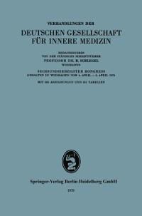 Cover Verhandlungen der Deutschen Gesellschaft fur Innere Medizin