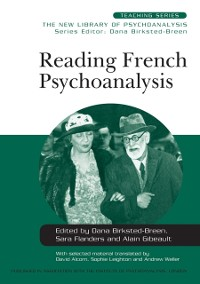 Cover Reading French Psychoanalysis