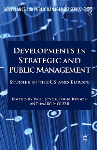 Cover Developments in Strategic and Public Management