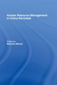 Cover Human Resource Management in China Revisited