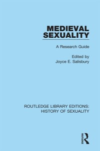 Cover Medieval Sexuality