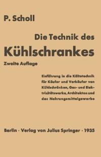 Cover Die Technik des Kuhlschrankes