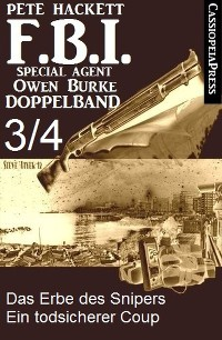 Cover FBI Special Agent Owen Burke Folge 3/4 - Doppelband