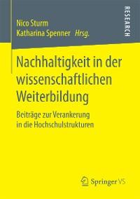 Cover Nachhaltigkeit in der wissenschaftlichen Weiterbildung