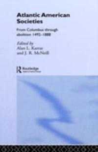 Cover Atlantic American Societies