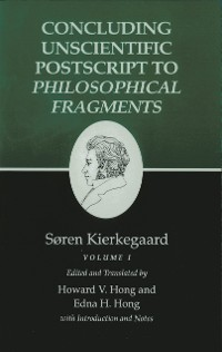 Cover Kierkegaard's Writings, XII, Volume I