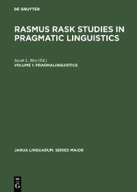 Cover Pragmalinguistics