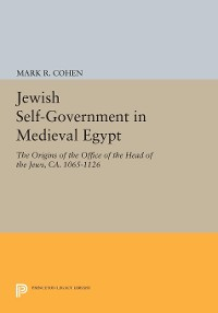 Cover Jewish Self-Government in Medieval Egypt