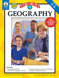 Cover Hands-On Geography, Grades 6 - 8