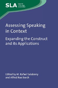 Cover Assessing Speaking in Context