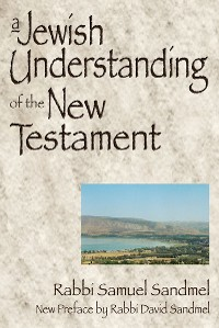 Cover A Jewish Understanding of the New Testament