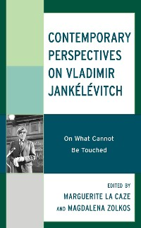 Cover Contemporary Perspectives on Vladimir Jankélévitch
