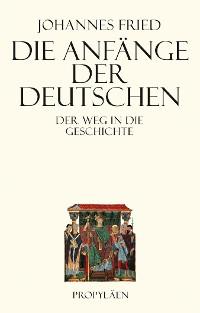Cover Die Anfänge der Deutschen