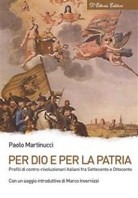 Cover Per Dio e per la Patria