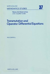 Cover Transmutation and Operator Differential Equations