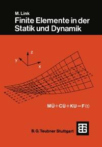 Cover Finite Elemente in der Statik und Dynamik